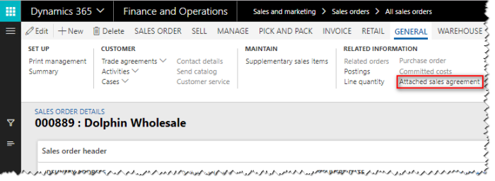 Sales prices in Dynamics 365 for Finance and Operations – Finance